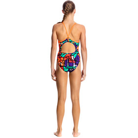 Funkita Diamond Back One Piece Swimsuit Girls Street Beat